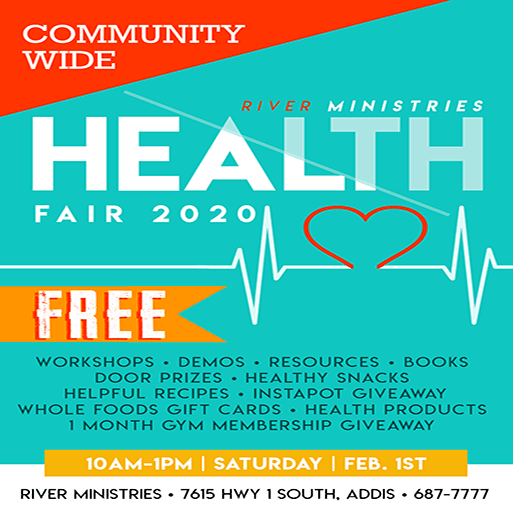 Health Fair Flyer News Flash